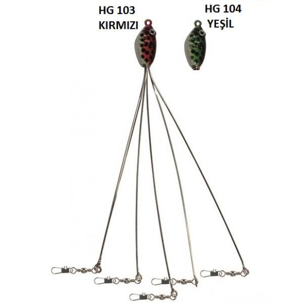 Levrek Şemsiyesi HG103-HG104