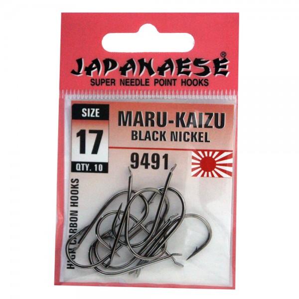 İğne Japanese Maru Kaizu Carbon Düz 9491