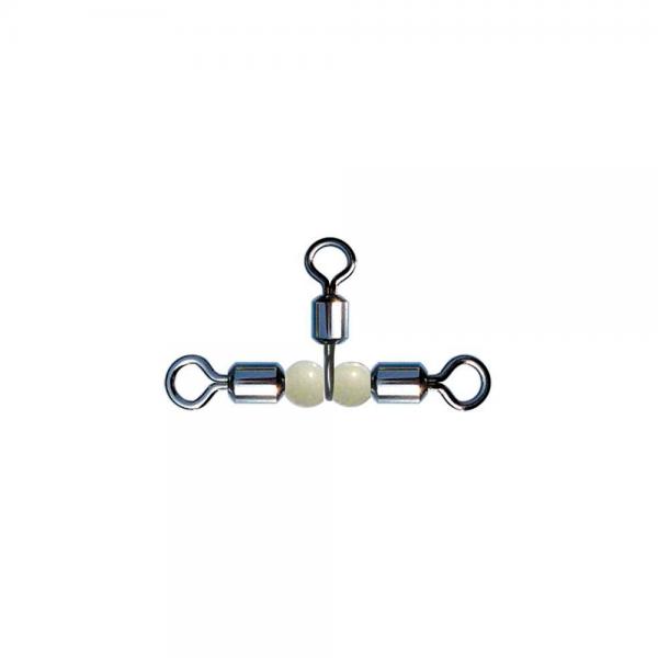 Fırdöndü Rolling Swivel Crossline Pear Beads